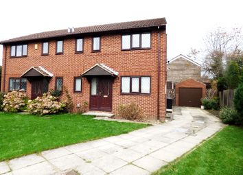 Thumbnail 3 bed semi-detached house for sale in Railsfield Rise, Bramley, Leeds