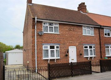 Thumbnail 3 bedroom end terrace house for sale in Bungalow Road, Selby