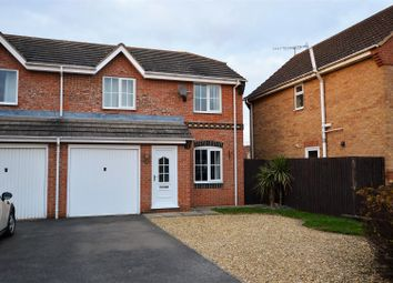 Thumbnail 3 bed semi-detached house for sale in Clover Gardens, Stamford