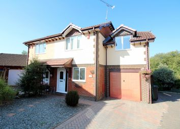 Thumbnail 3 bed semi-detached house for sale in Keates Meadow, Lytchett Matravers, Poole