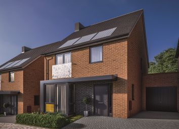 Thumbnail 3 bed link-detached house for sale in Oakhill Drive, Marksbury, Bristol