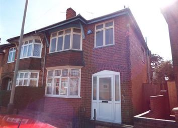 Thumbnail 3 bed semi-detached house for sale in Herschell Street, Leicester, Leicestershire