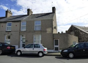 Thumbnail 3 bed end terrace house for sale in East Avenue, Porthmadog, Gwynedd