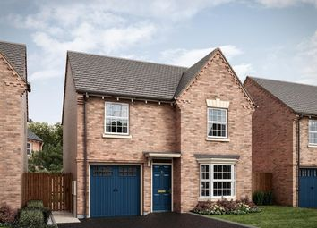 Thumbnail 3 bed detached house for sale in Leicester Road, Lutterworth