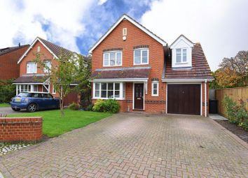 Thumbnail 4 bed detached house for sale in Foxborough, Swallowfield, Reading