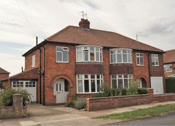 Thumbnail 3 bed semi-detached house for sale in Thirkleby Way, York