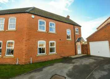 Thumbnail 3 bed semi-detached house for sale in 20 Kristen Turton Close, Grimsby