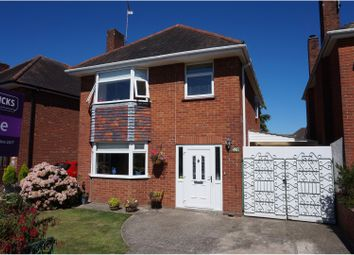Thumbnail 3 bed detached house for sale in Rushington Avenue, Totton, Southampton