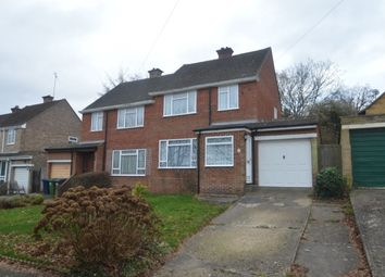 Thumbnail 3 bed semi-detached house for sale in Upper Lodge Lane, Hazlemere, High Wycombe
