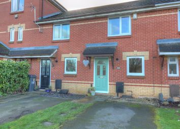 Thumbnail 2 bed terraced house for sale in Benskins Oval, Leicester