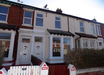 Thumbnail 3 bed terraced house for sale in Gorton Street, Blackpool