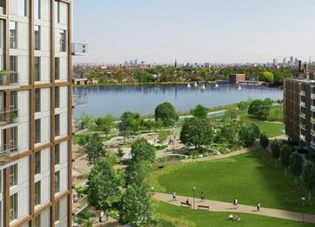 Thumbnail 3 bed flat for sale in Skylark Point, Woodberry Grove, Woodbery Down, Finsbury Park, London
