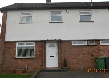 Thumbnail 3 bed semi-detached house to rent in Heol Carnau, Ely, Cardiff
