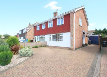 Thumbnail 3 bed semi-detached house for sale in Meadow Road, Sturry, Canterbury