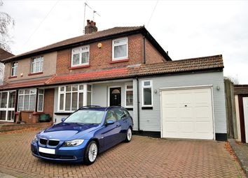 Thumbnail 3 bed semi-detached house for sale in Manor Way, Barnehurst, Kent