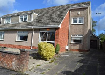 Thumbnail 4 bed semi-detached house for sale in Mossacre Rd, Wishaw