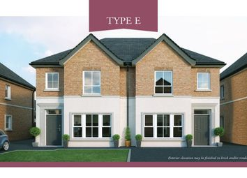 Thumbnail 3 bedroom semi-detached house for sale in Lynn Hall Park, Rathgael Road, Bangor