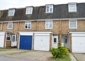 Thumbnail 3 bed town house for sale in Church Road, Harold Wood, Romford