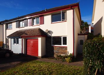 Thumbnail 3 bed semi-detached house for sale in Velator Drive, Braunton