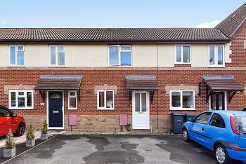 Thumbnail 2 bedroom terraced house to rent in Hillbourne Close, Warminster