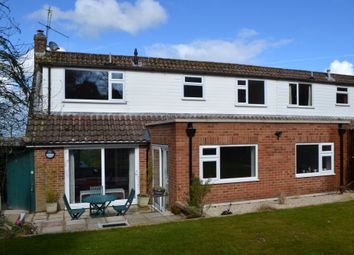 Thumbnail 4 bed semi-detached house for sale in Knowle Crescent, Kingsclere, Newbury