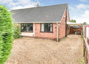 Thumbnail 2 bed semi-detached bungalow for sale in Fiddlers Lane, Saughall, Chester