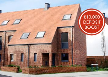 """Thumbnail 3 bedroom terraced house for sale in """"Clover"""" at Derwent Way, York"""