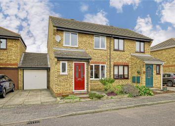 Thumbnail 3 bed semi-detached house for sale in Pembroke Avenue, Eynesbury, St. Neots, Cambridgeshire