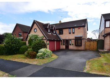 Thumbnail 5 bed detached house for sale in Fuller Drive, Crewe