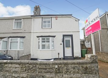 2 bed semi-detached house for sale in Queens Road, Higher St. Budeaux, Plymouth PL5