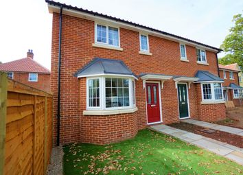 Thumbnail 3 bed semi-detached house for sale in Kerrison Gardens, Stoke Ash Road, Thorndon