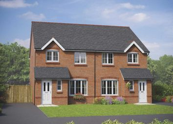 Thumbnail 3 bed end terrace house for sale in Cheshire Street, Audlem, Crewe