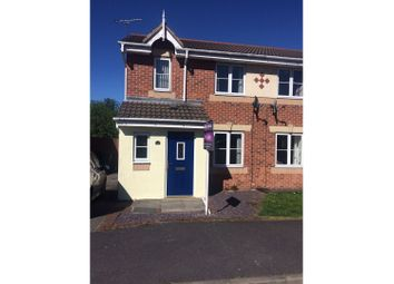 Thumbnail 3 bed semi-detached house for sale in Woodbridge Close, Heanor