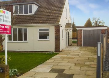 Thumbnail 2 bed semi-detached bungalow for sale in Thorpe Lane, Tingley, Wakefield