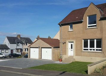 Thumbnail 3 bed semi-detached house for sale in 33, Back Dykes Terrace, Falkland, Fife