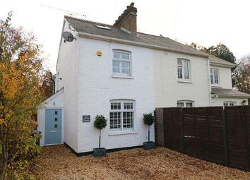 Thumbnail 3 bed semi-detached house for sale in Portnall Cottages, London Road, Sunningdale, Ascot, Berkshire