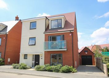 Thumbnail 5 bed detached house for sale in Brassie Wood, Chelmsford