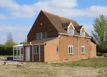Thumbnail 4 bed detached house for sale in Swindlers Drove, Spalding