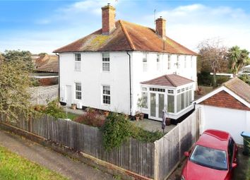 Thumbnail 2 bed semi-detached house for sale in Hillview Crescent, East Preston, Littlehampton
