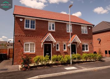 Thumbnail 3 bed semi-detached house to rent in Riddell Way, (Weaver) St. Helens, Merseyside