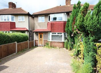 Thumbnail 3 bed end terrace house to rent in Dorchester Road, Worcester Park