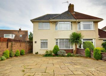Thumbnail 4 bed semi-detached house for sale in Chester Avenue, Lancing, West Sussex