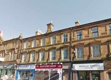 Thumbnail 3 bed flat for sale in John Finnie Street, Kilmarnock