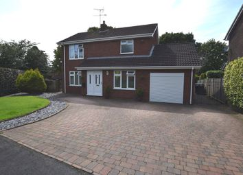 Thumbnail 3 bed detached house for sale in Jersey Close, Newcastle-Under-Lyme