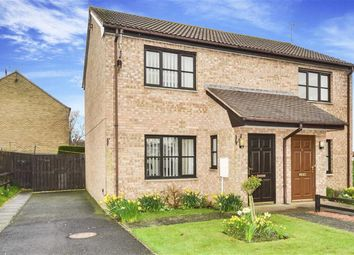 Thumbnail 2 bed semi-detached house for sale in New Barns Way, Warkworth Morpeth, Northumberland