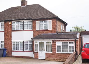 Thumbnail 4 bed semi-detached house for sale in Oak Way, Southgate