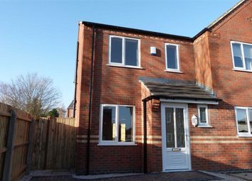 Thumbnail 3 bed semi-detached house to rent in Amber Grove, Forest Town, Mansfield, Nottinghamshire