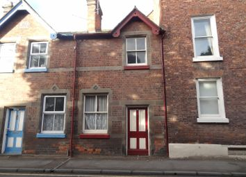 Thumbnail 2 bed terraced house to rent in Mill Street, Wem, Shrewsbury