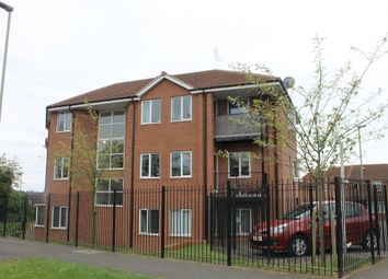 Thumbnail 2 bed flat for sale in Newbiggin Place, Leicester