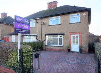 Thumbnail 3 bedroom semi-detached house for sale in Heol Gwynedd, The Heath